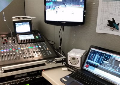 SJ Sharks Radio Broadcast Design and Engineering