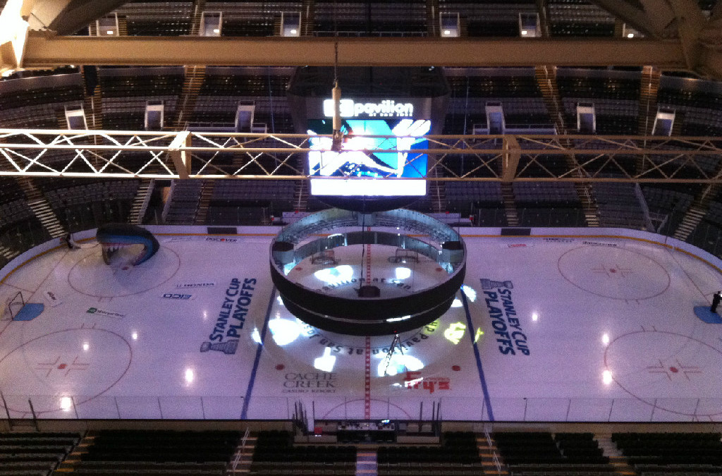 Melzak Media Providing Engineering Support for San Jose Sharks